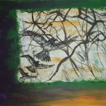 Vögel im Wind, 2011, € 2700